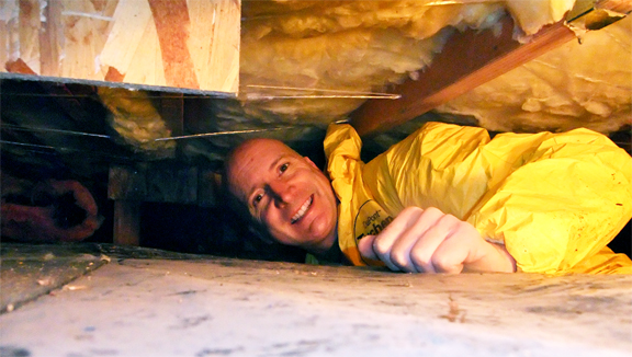 Inspecting Ducts In Tight Crawl Spaces Mcdowell Amp Son