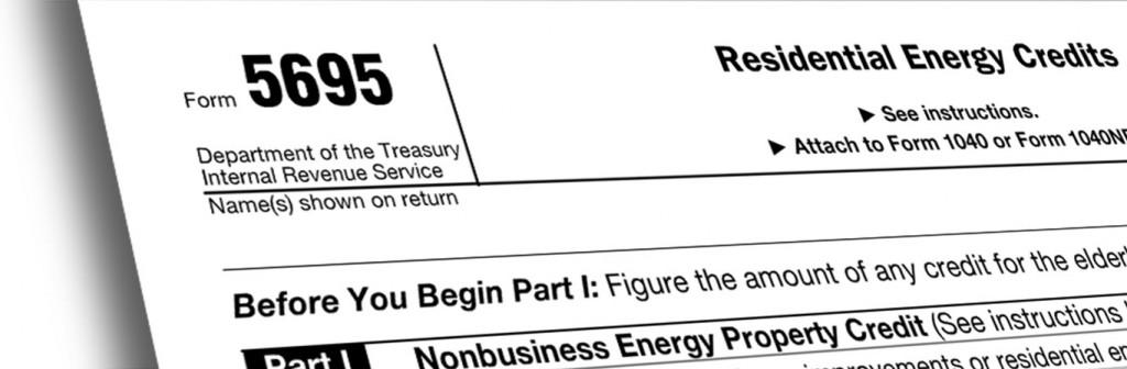 Federal Tax Form-5695